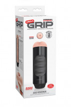 Мастурбатор-анус Extreme Toyz Mega Grip Vibrating Stroker Mouth